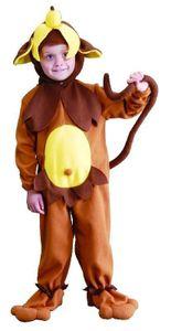 Kostüm Affe Affenkostüm Tierkostüm für Kinder Kinderkostüm Gr. 86 - 140, Größe:134/140