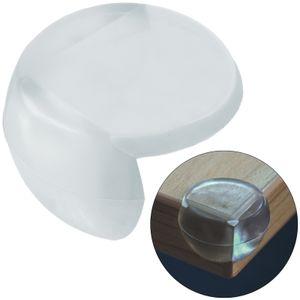 4x Eckkantenschutz Kantenschutz für Tische aus SilikonTransparent Baby Winkel Eckenschutz Stoßschutz Eckschutz Kindersicherung