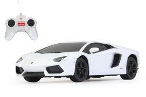 Lamborghini Aventador 1:24 weiss 40MHz