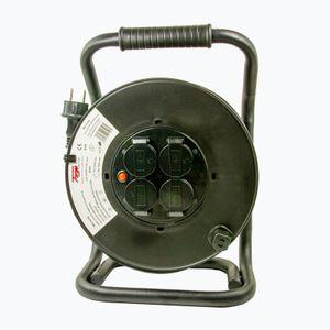 Kabeltrommel IP 44, 230 V, H07RN-F Gummileitung, verschiedenen Längen & Querschnitte, Länge:25 m, Leitung:3G 2.5 mm²
