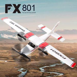 Fx801 flugzeug cessna 182 2,4 ghz 2ch rc flugzeug flugzeug outdoor flug toys fš¹r kinder jungen