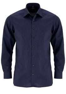 Olymp Modern Fit Hemd Langarm Fil A Fil Nachtblau 0302/64/96, Größe: 45