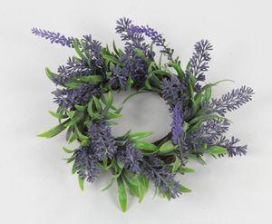 Deko Kranz Lavendel klein Ø 15 cm