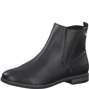 s.Oliver Damen Chelsea Boots Stiefeletten 5-25312-25, Größe:39 EU, Farbe:Schwarz