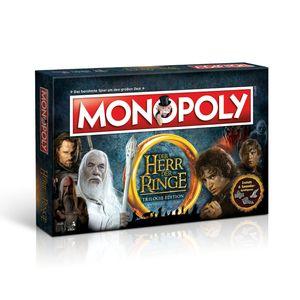 Winning Moves Monopoly Herr der Ringe, Wirtschaftssimulation, Erwachsene & Kinder, 8 Jahr(e)