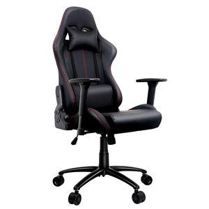 Amoiu - Gaming Stuhl, Racing Gamer Stuhl, Schreibtischstuhl Bürostuhl mit 3D verstellbaren Armlehnen