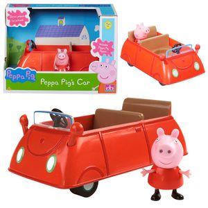 Auswahl Fahrzeuge | Peppa Wutz | Peppa Pig | Mit Figur und Zubehör, Figur:Familien Auto