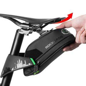 ROCKBROS Satteltasche Fahrradtasche Werkzeugtasche MTB Sitztasche Wasserdicht L
