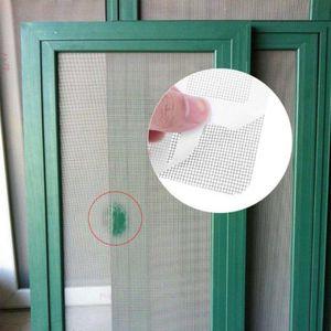 10pc Screen Repair Patch Fenster und Tür Bildschirm Reparatur Patch Klebstoff Reparatursatz WJQ90708196
