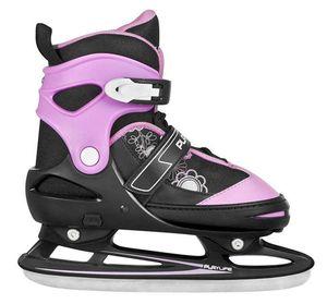 Playlife Calgary verstellbare Schlittschuhe Hockey Kinder schwarz-pink Größe 36-40