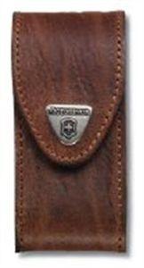 Victorinox Echt-Leder-Gürteletui in braun für mittlere Messer (4.0545)