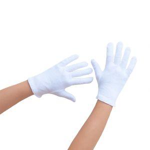 Oblique Unique Kinder Handschuhe Pantomime Butler Kostüm - weiß