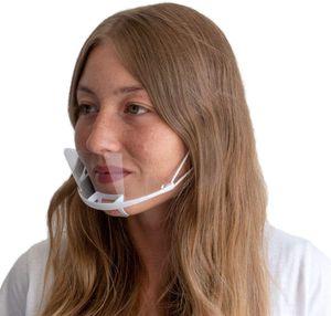 20er-Set Mehrweg Mundschutz Staubfilter Maske Gesichtsmaske, Größe: 14 x 10.5cm