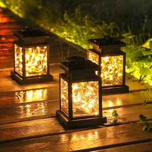 LED Außen Solarleuchte Garten Beleuchtung Solar Licht Lampe IP44 Wasserfest Deko Solar Akkubetrieben Garten Terrasse Balkon (Stern)