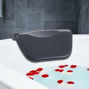 Schwarz Badewannenkissen Badewanne Kissen Kopfstütze Nackenstütze Nackenkissen