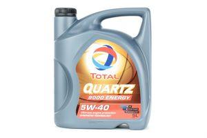 5 Liter TOTAL 5W-40 Quartz 9000 Energy BMW Longlife-01 Porsche A40 VW 502 00 MB 229.3 VW 505 00 MB 229.5