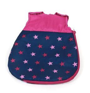 Puppenschlafsack Stars marine