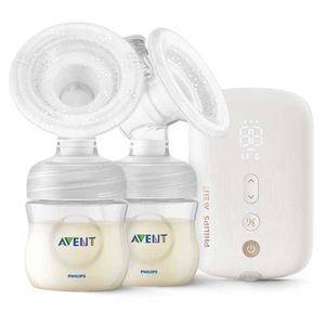 Philips Avent Twin Electric Bp Transparent One Size