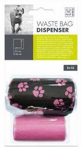 hundekotbeutelspender 23 x 35 cm rosa 31 Stk