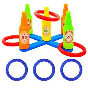 Kinder-Ringwurfspiel-Set 42 x 42 x 23,5 cm