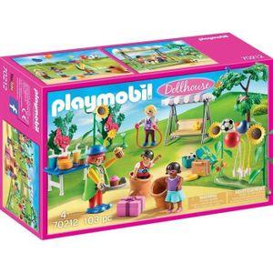 PLAYMOBIL Dollhouse - Kinderfest mit Clown (70212)
