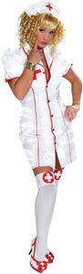 Sexy Schwester Krankenschwester Karneval Fasching Kostüm 36
