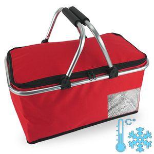 Einkaufskorb FrozenBAG mit Kühlfunktion in rot