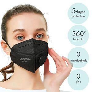 100x Atemschutzmaske  Maske Atemschutzmaske ,Die Schutzstufe entspricht ,2020 Neu Maske Atemschutz Mundschutz Atemschutzmaske