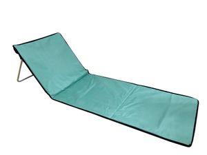 Entspannungsmatte zum Mitnehmen - Liegematte mit Rückenstütze - 156x53x42cm - Grün