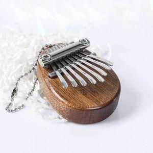 8 Tasten Mini Kalimba exquisite Finger Daumen Klavier Marimba Musikalisch gutes Accessoire