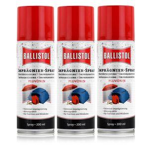 Ballistol Imprägnier-Spray Pluvonin 200ml - Imprägnierung (3er Pack)