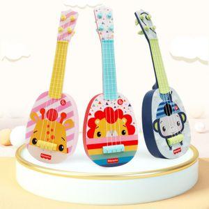 Fisher-Price Kindergitarre Baby Ukulele Spielzeug Ukulele Kinder Geschenk Hirsch