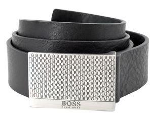 Boss 50440760-001 Herrengürtel Joel Leder Schwarz, 105 cm