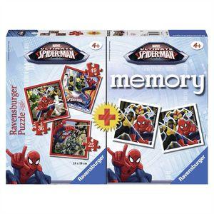 Ravensburger Marvel Avengers Sider-Man Kinder Puzzle 25,36,49 Teile inkl. Memory