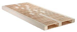 Lamellenrost Komfort 100x200 Schaumstoffkern Buche/Buche