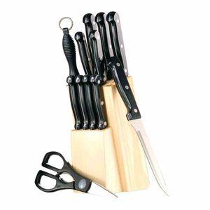 Esmeyer 12-teiliges Messerset ORION mit Holz-Block, , 291-081
