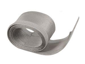 Flexibler Klettverschluss Kabelkanal Kabelschlauch Kabelstrumpf   1,8m x 8,5cm