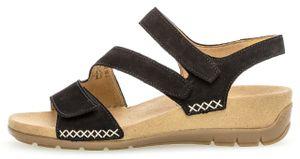 Gabor Sandale  Größe 37, Farbe: schwarz