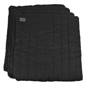 WALDHAUSEN Bandagierkissen, 4 Stk, schwarz, schwarz
