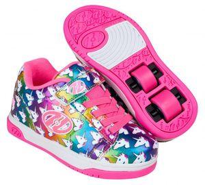 Heelys X2 Dual Up Schuhe Einhorn Mädchen