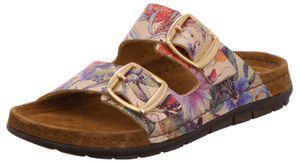 Rohde Rodigo 5864 Damen Schuhe Pantoletten Clogs, Größe:39 EU, Farbe:Gold