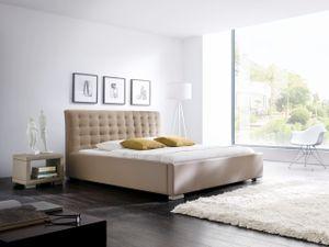 Meise Möbel 297-10-40000 Isa-Comfort Polsterbett ; Farbe: Muddy ; Maße (BxLxH): 160 cm x 200 cm x 105,5 cm