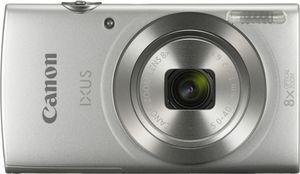 Canon IXUS 185 Essential Kit inklusive Kameratasche, Farbe:Silber