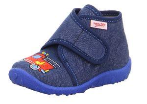Superfit Spotty 09253-80 Kinderhausschuhe, Jungs, Blau, Textil, NEU - Haus - hÜttenschuhe Kinder Hausschuhe, Blau