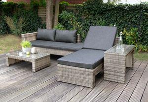 Multifunktionslounge Maximum braun von bellavista - Home&Garden