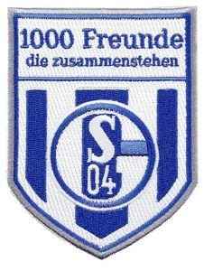 FC Schalke 04 Aufnäher 1000 Freunde