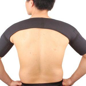 Schulterbandage Schulterschützer beidseitig für Damen & Herren - Schulterstütze für die Rotatorenmanschette - aus Neopren