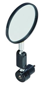 Prophete 5217 Fahrradspiegel für Links- und Rechtsmontage - Fahrrad Spiegel 80mm
