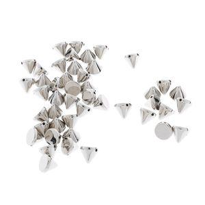 1 Pack Kegel Spike Acryl Perlen Punk Niet Armband Spacer Perlen Splitter Farbe Splitter
