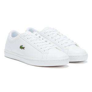 Lacoste Straightset weiße Damen Sneakers